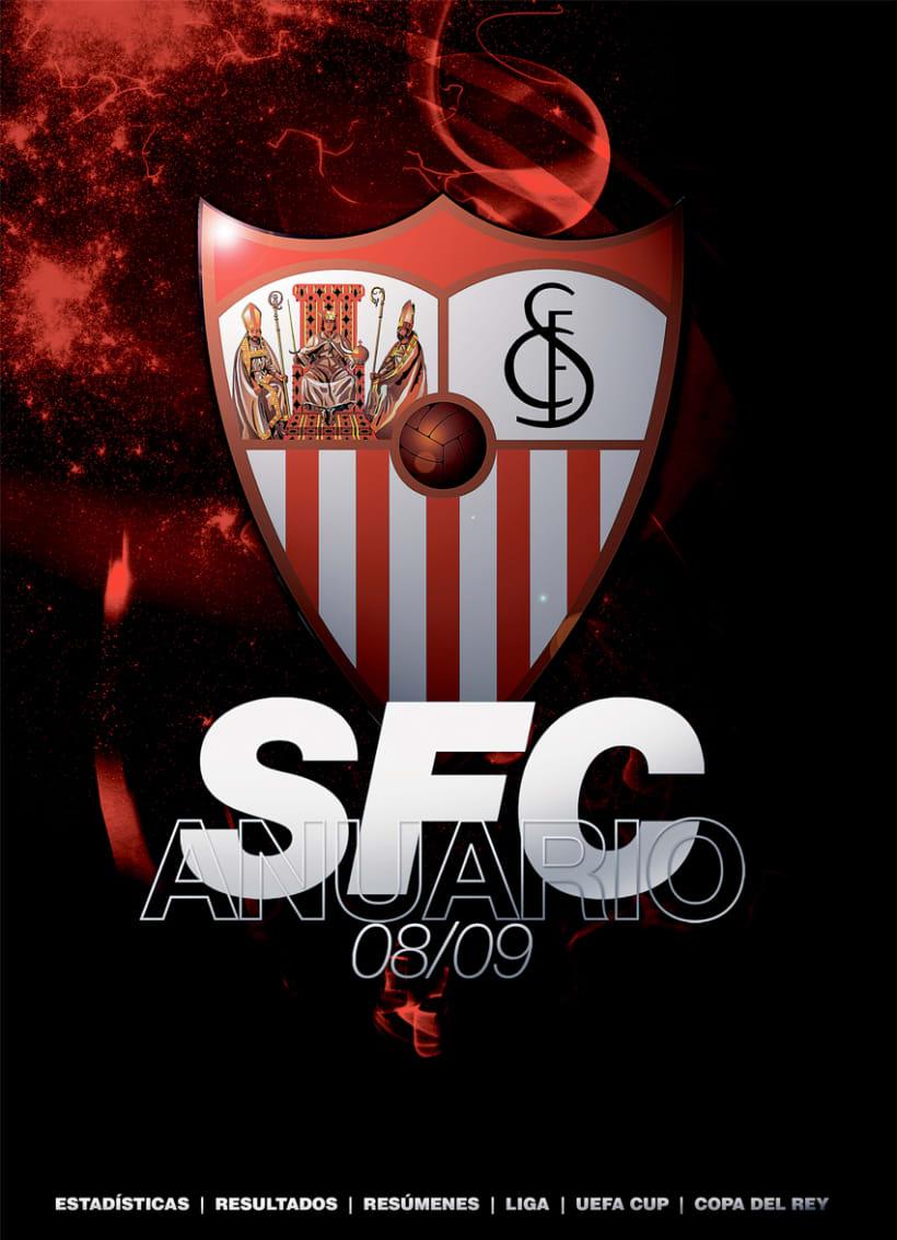 ANUARIO OFICIAL SEVILLA FC 08/09 1
