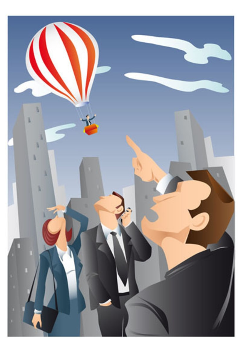 Business Illustrations 4