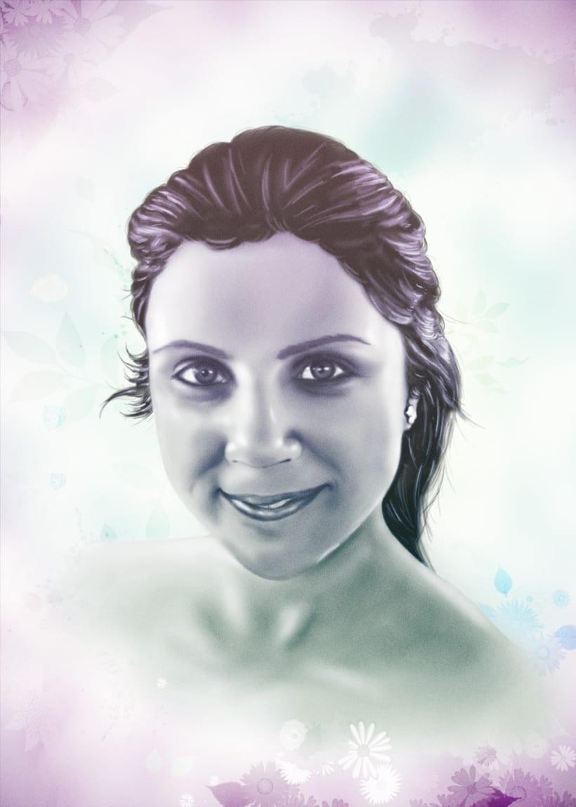 Dibujo en photoshop 6