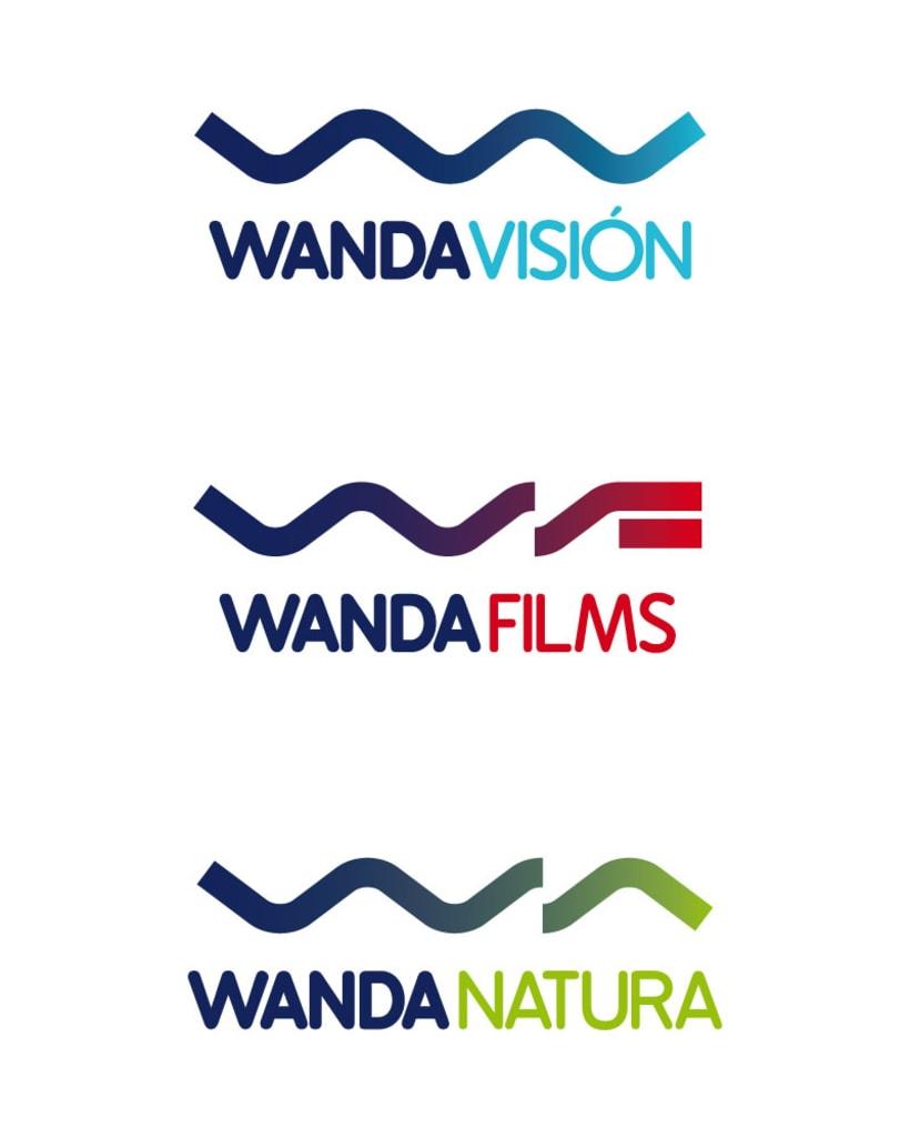 Familia logotipos Wanda 1