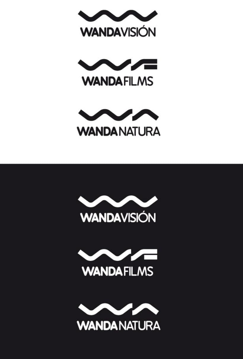 Familia logotipos Wanda 2