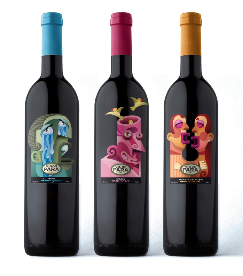 Etiquetas Vinos Para 5