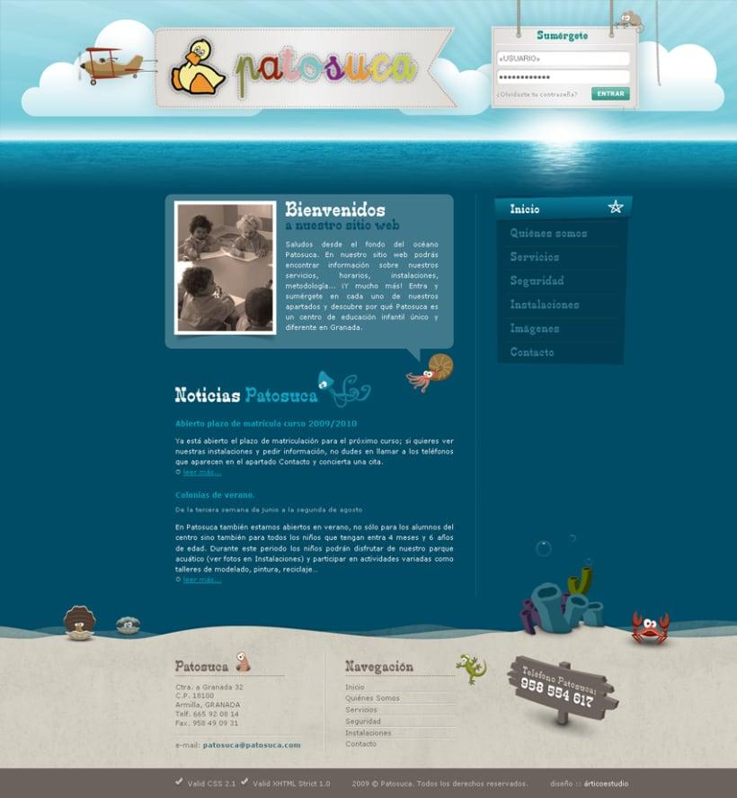 Sitio Web Patosuca 1