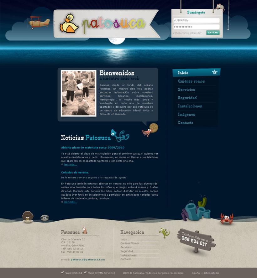Sitio Web Patosuca 2