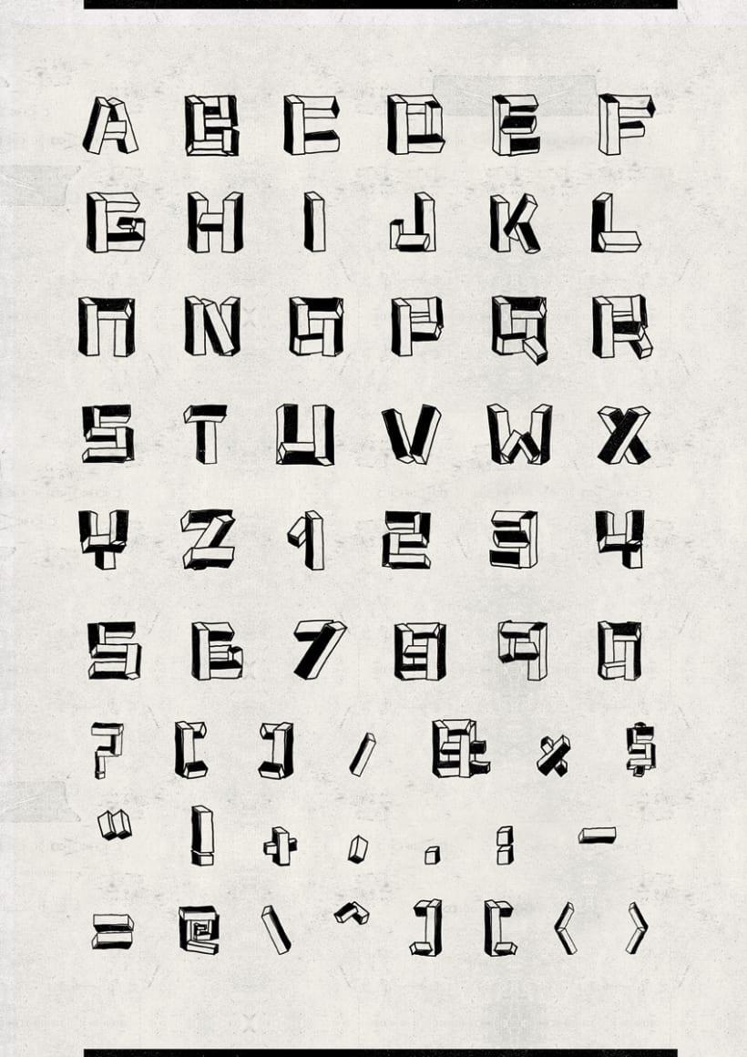 Cubitus font 4
