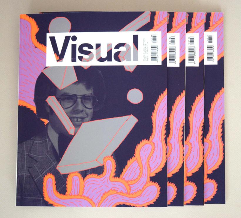 Portada Visual 136, año XXI 1