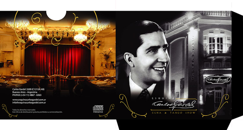 Pack disco Esquina Carlos Gardel 1