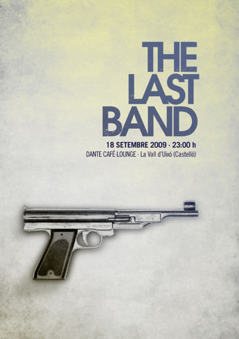 The Last Band póster 1