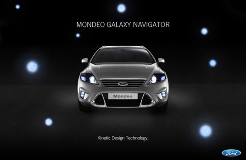 Ford Mondeo Galaxy Navigator 1