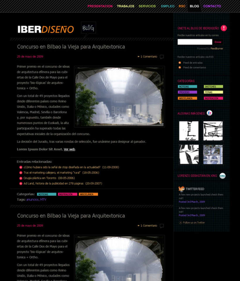 Web + Blog  3