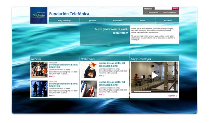 Fundación Telefónica - Propuesta 1