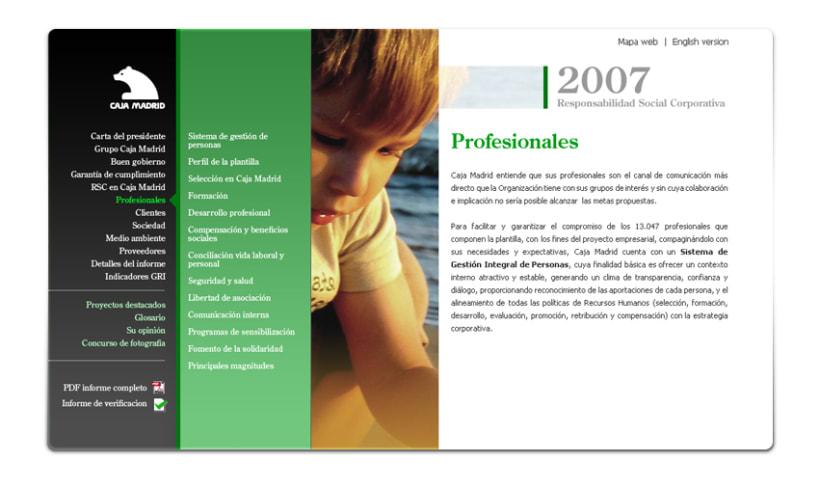 Caja Madrid Responsabilidad Social 2