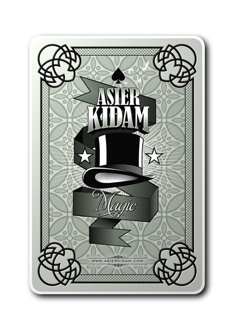 La baraja de Mr Kidam 1