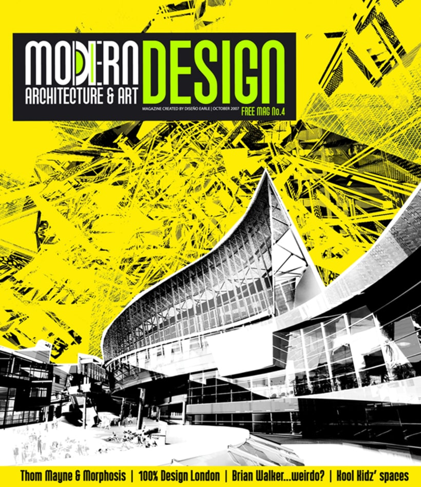 Modern design magazine domestika for Revista arquitectura y diseno