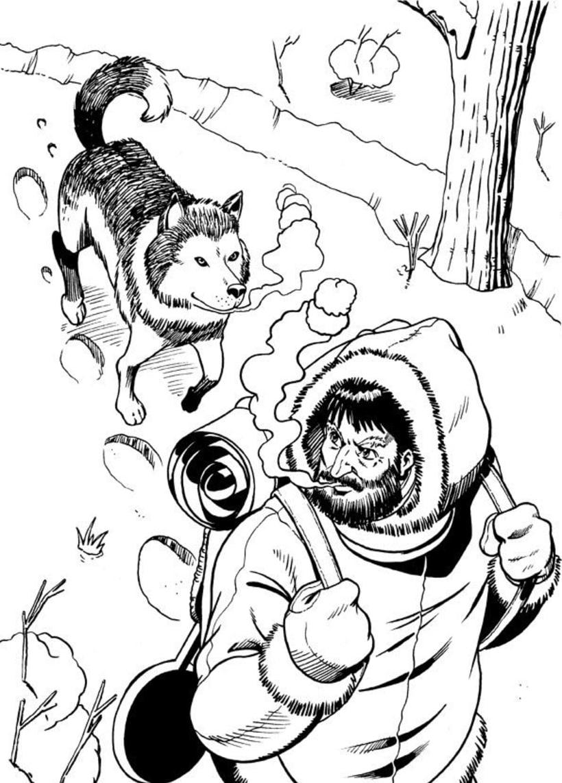 Jack London ilustraciones 1