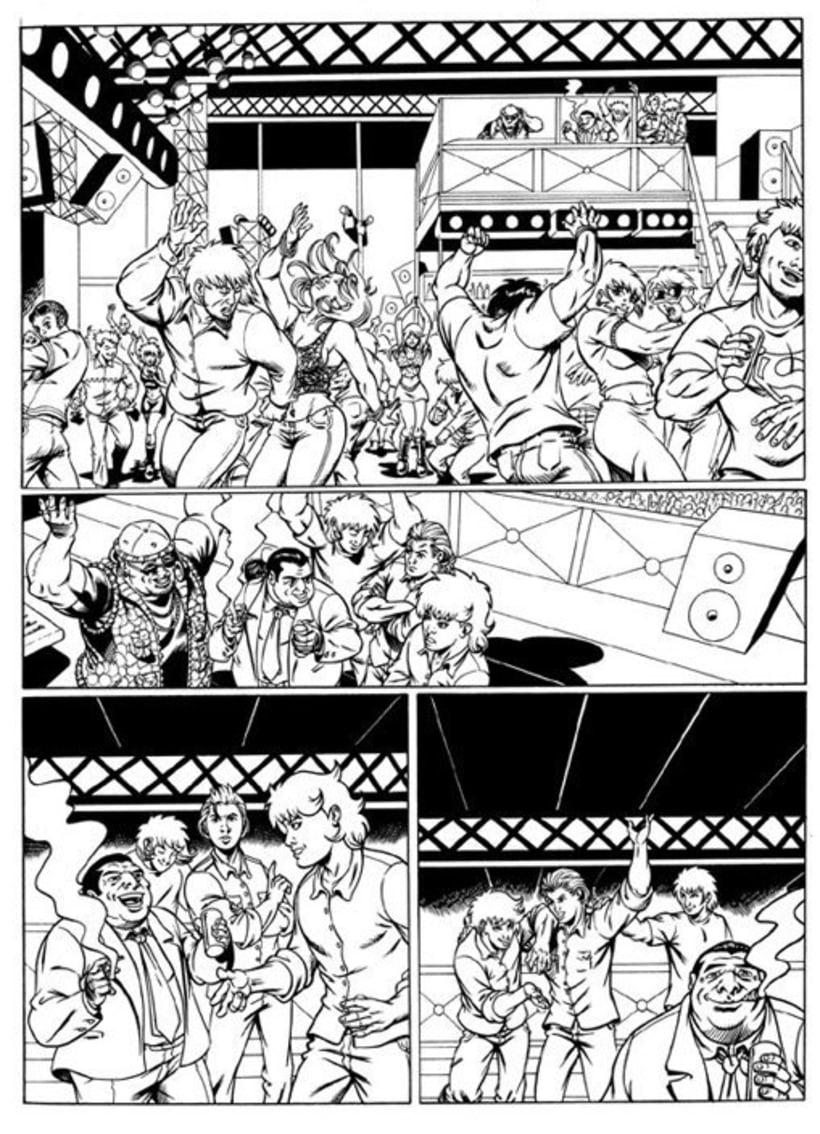 Mane pagina comic 1
