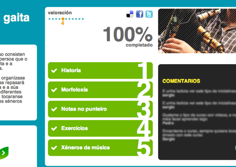 Escola Aberta, portal e-learning 4