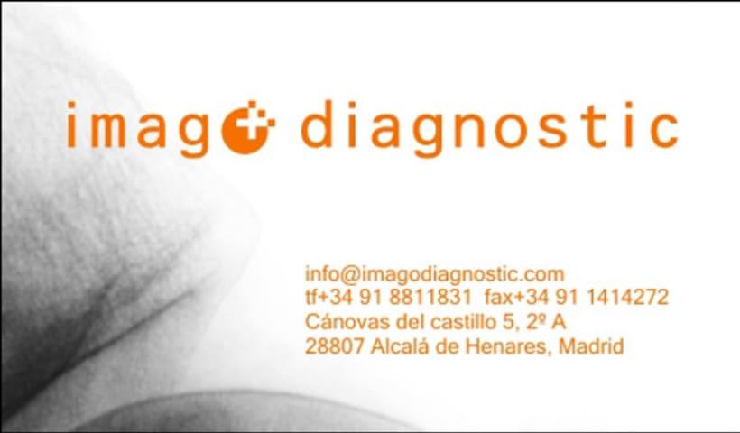 imago diagnostic / identidad corporativa 1