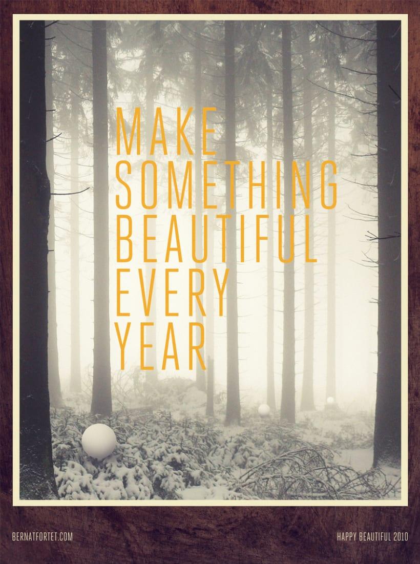 Make Something Beautiful Every Year 2