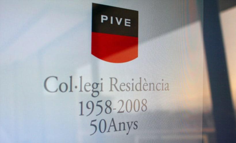 Imagen corporativa | Col·legi Residència Pive 2