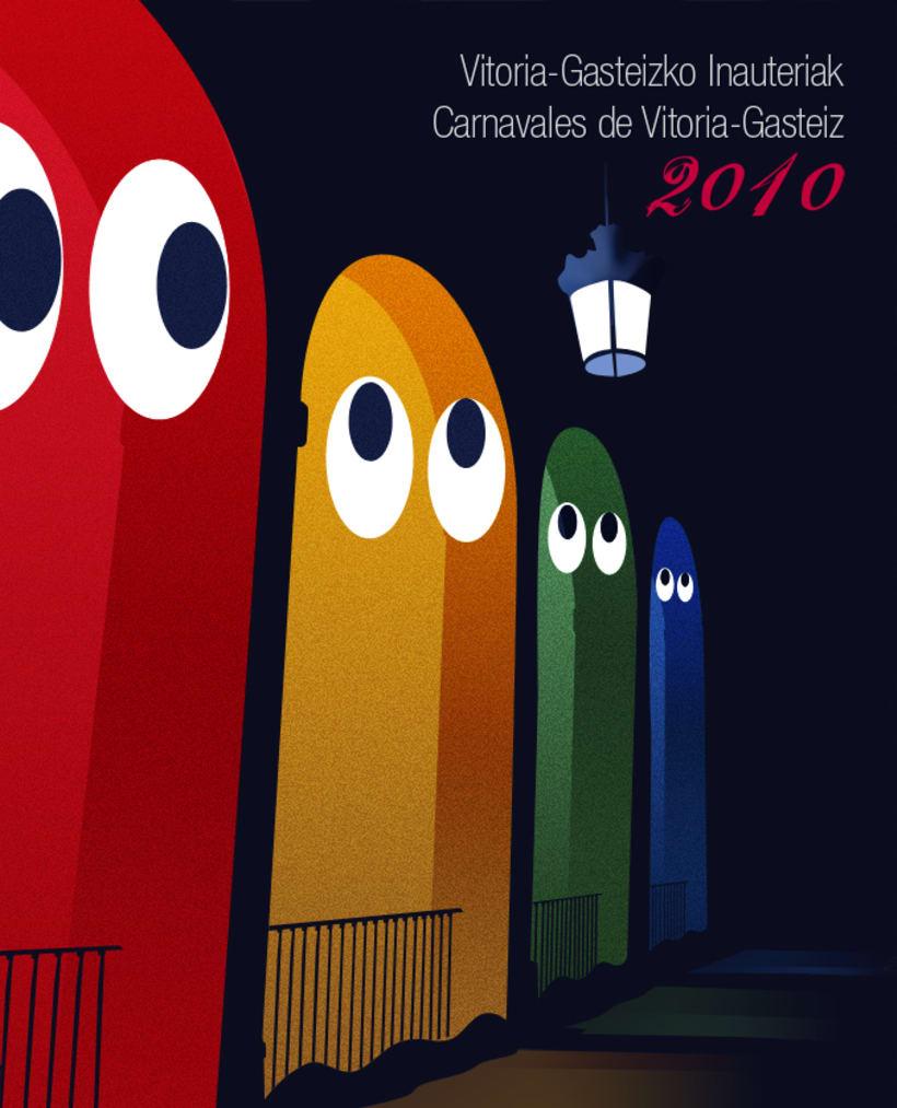 Cartel carnaval Vitoria 2010 1