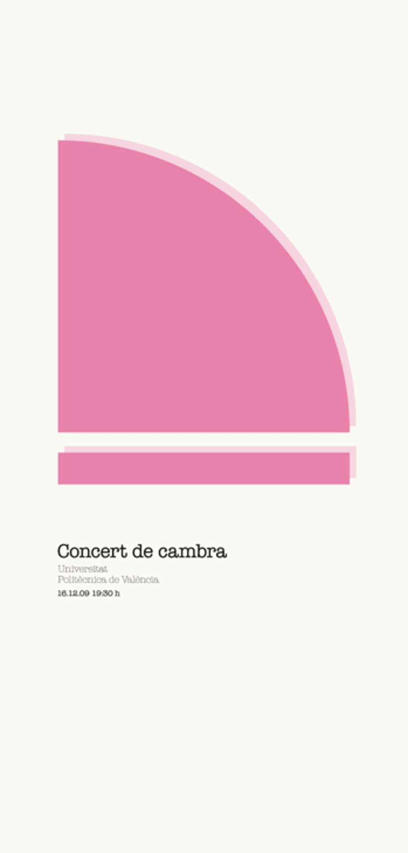 Concert de Cambra, UPV 1