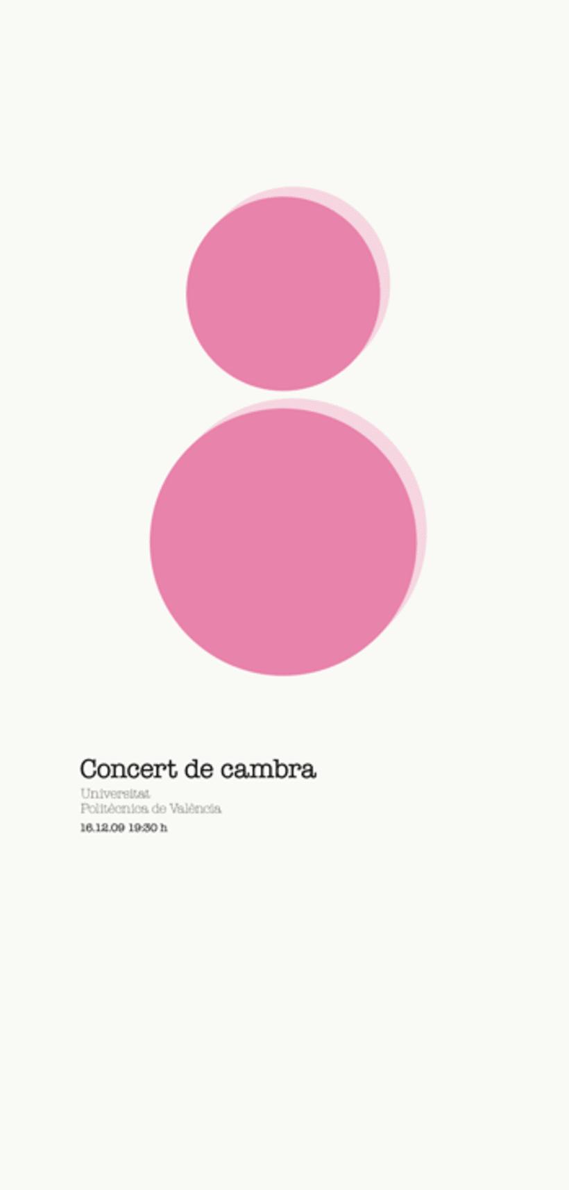 Concert de Cambra, UPV 2