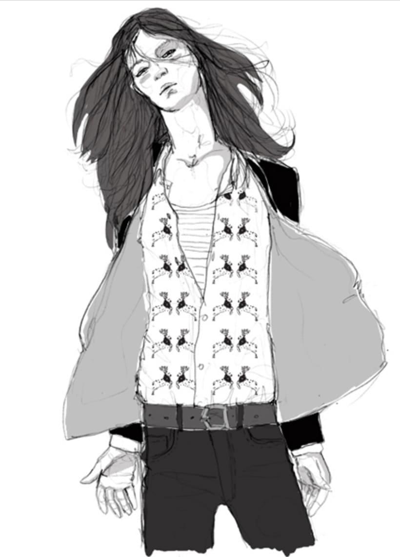 Digital Fashion Illustration, Step By Step.
