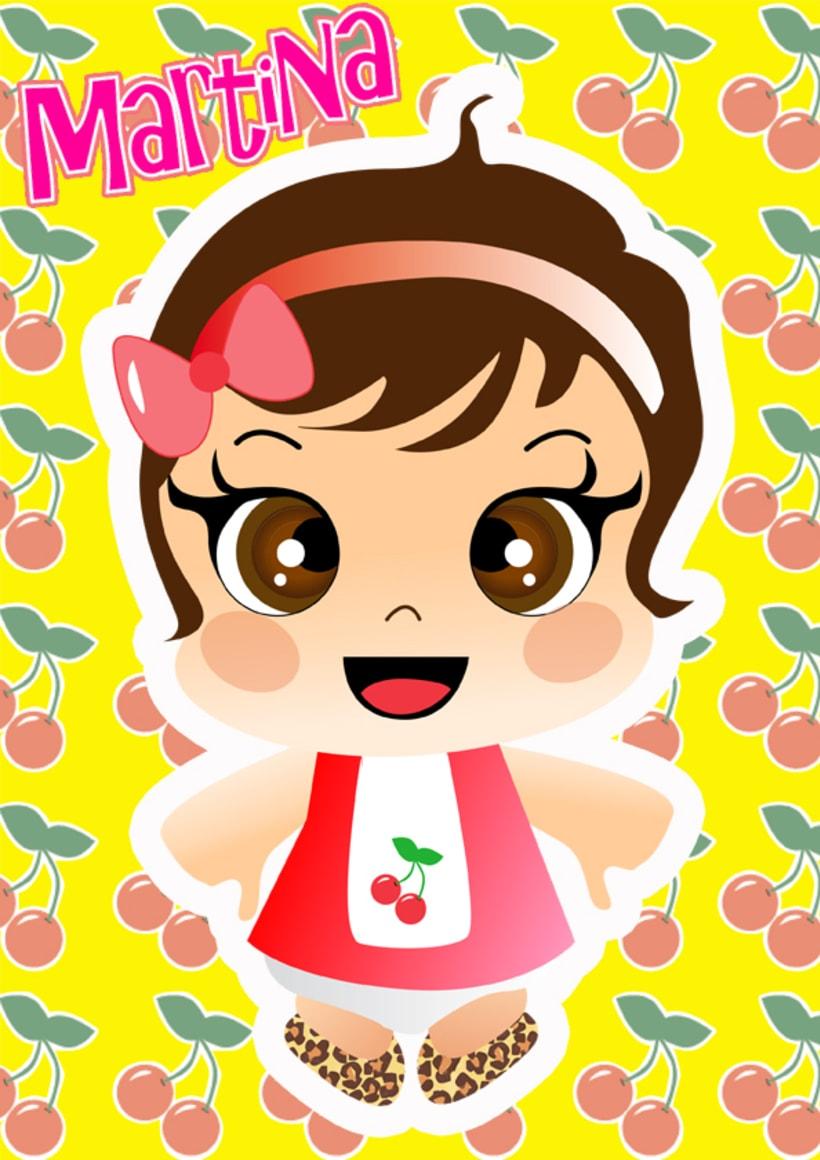 Ilustraciones personalizadas de bebes 2