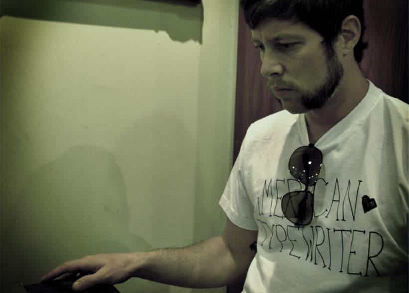 American Typewriter T-shirt 1
