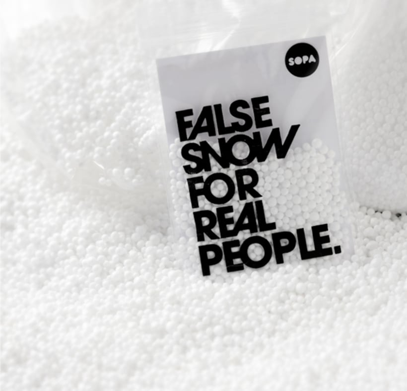 False snow for real people 1