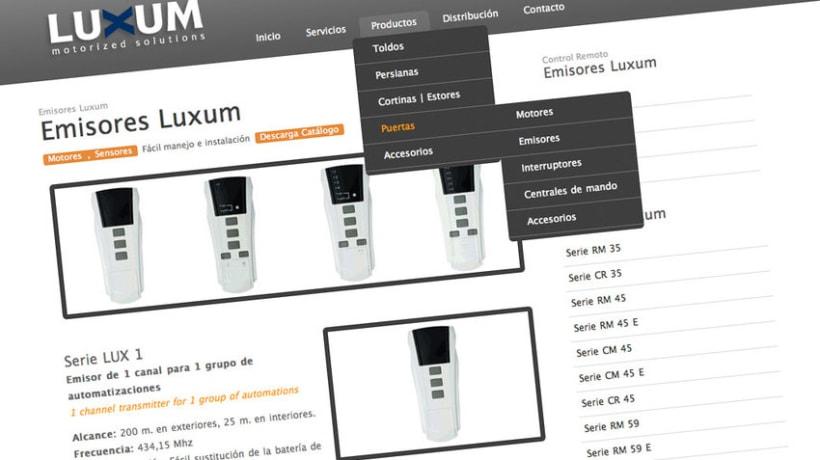 Web Luxum.es 1