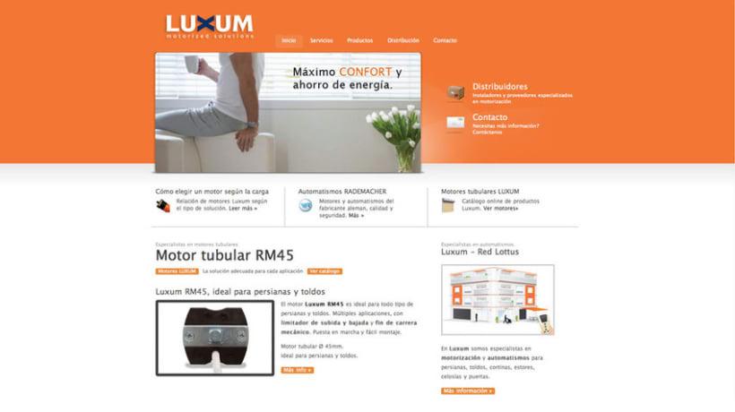 Web Luxum.es 2
