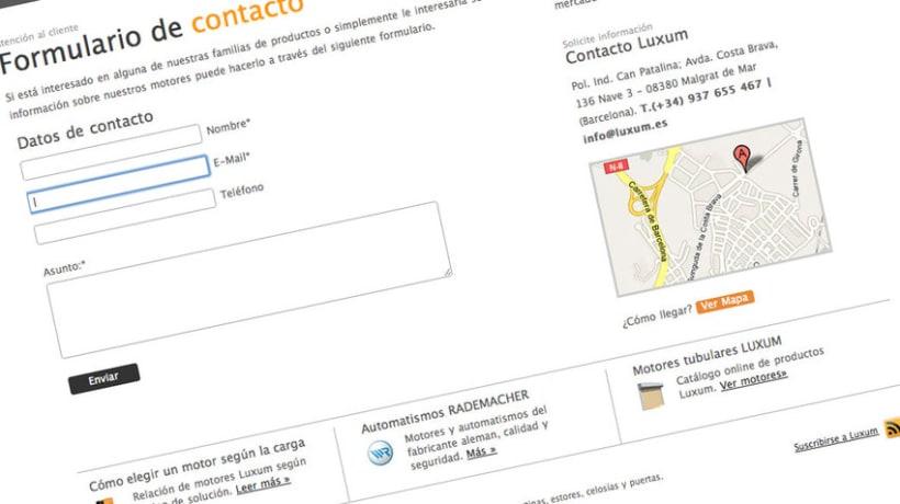Web Luxum.es 3