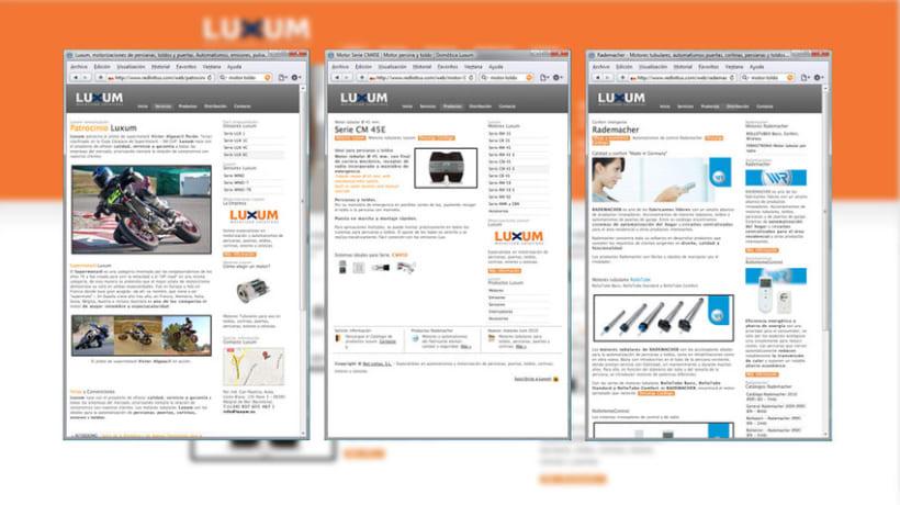 Web Luxum.es 4