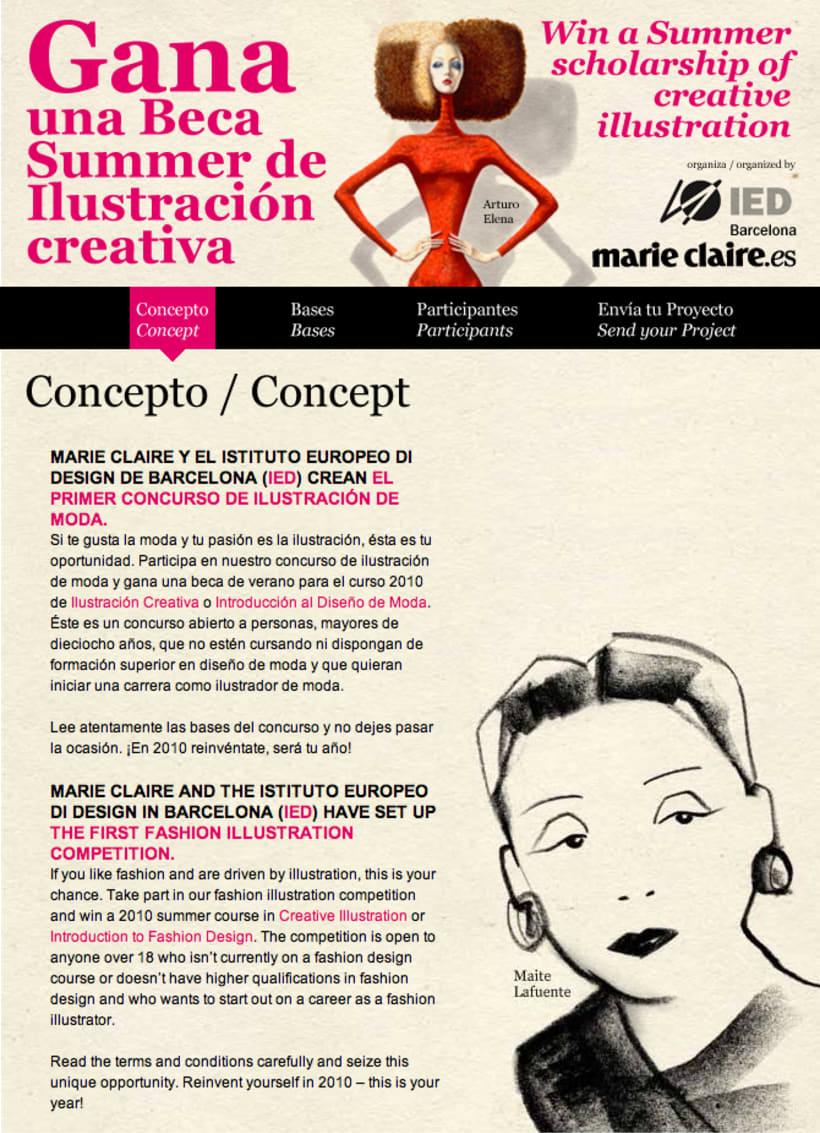web Marie Claire IED Barcelona 1