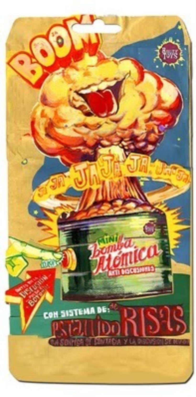 Mini Bomba Atómica Antidiscusiones 2