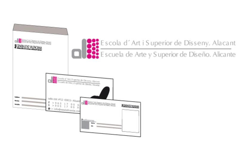Propuesta Escuela de arte y superior de diseño de Alicante 1