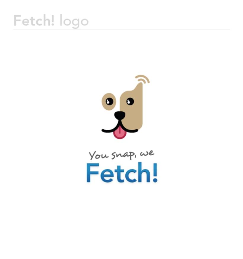 Fetch! Corporate Identity and UI design 1