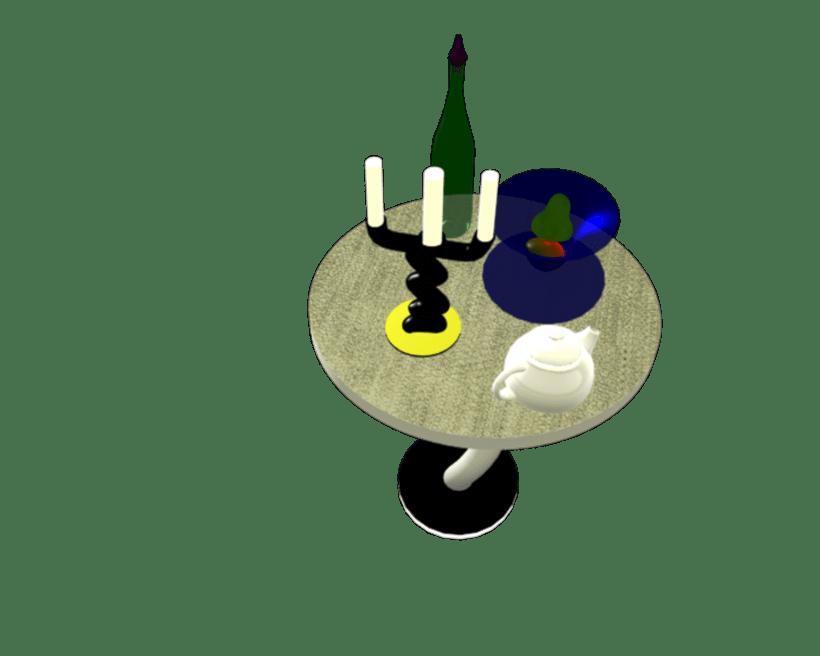 Bodegón 3D 6