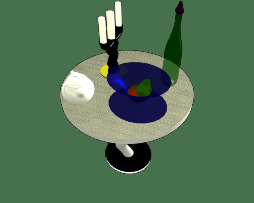 Bodegón 3D 7