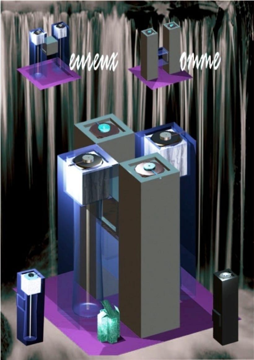 Diseño de perfume - Heureux Homme 7