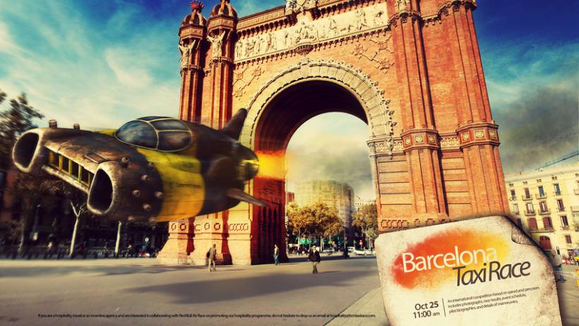 Barcelona Taxi Race 1