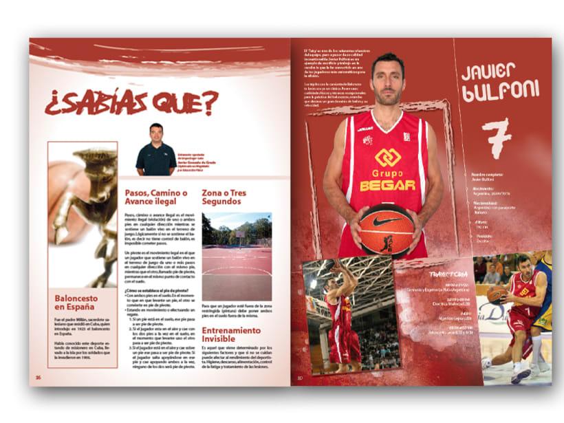 Revista Baloncesto León 2