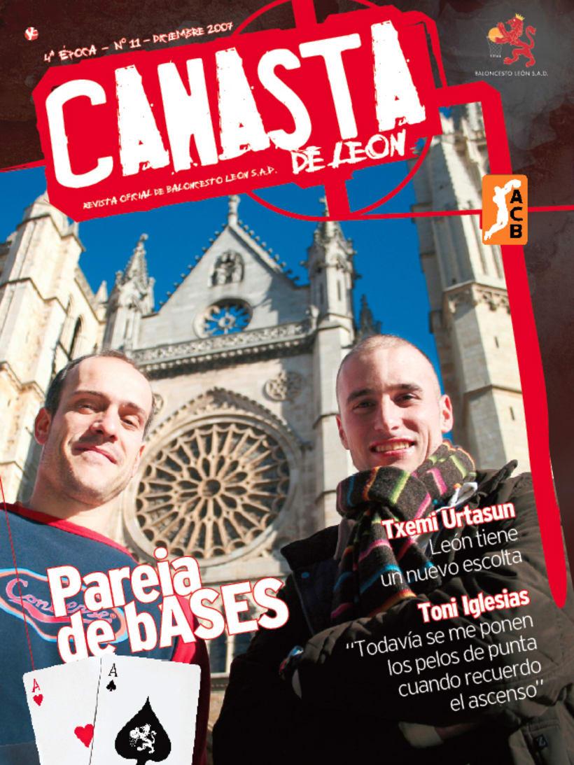 Revista Baloncesto León 1