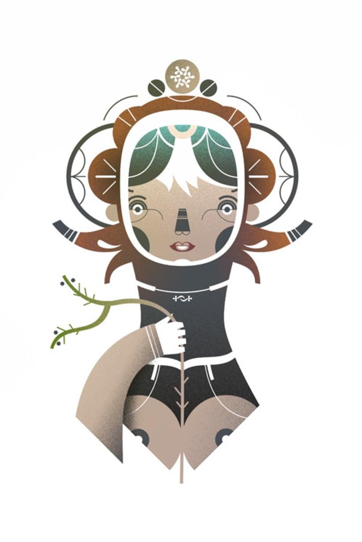 Screenprint Characters 2009 3