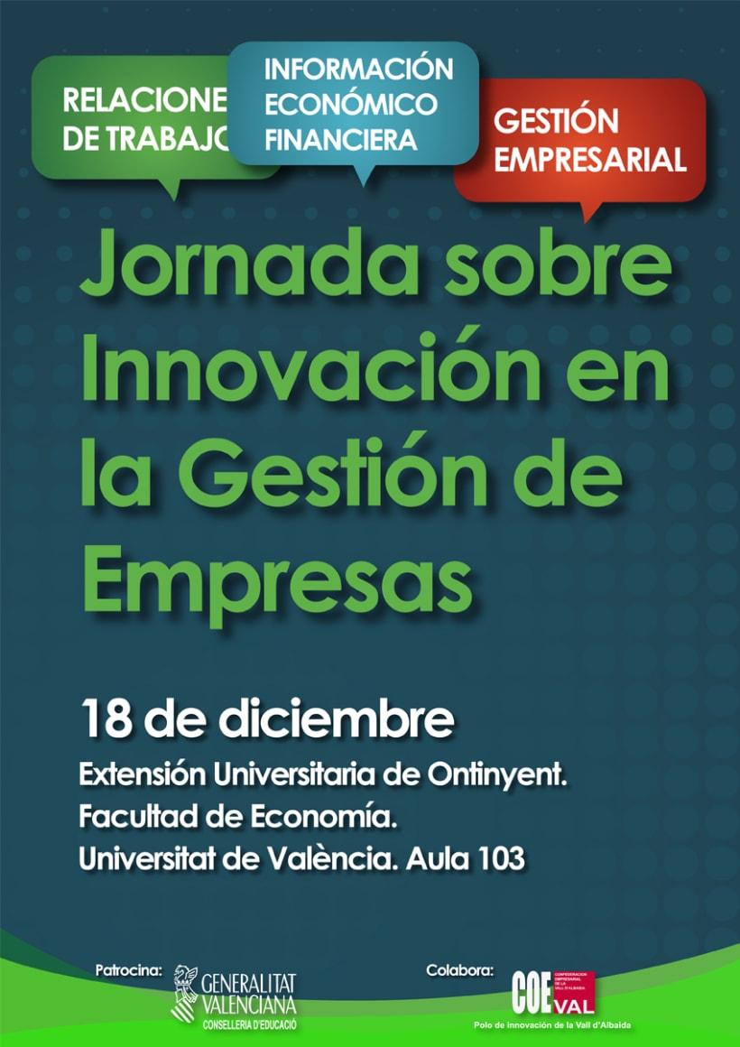 Jornada sobre Innovación en la gestión de empresas 2