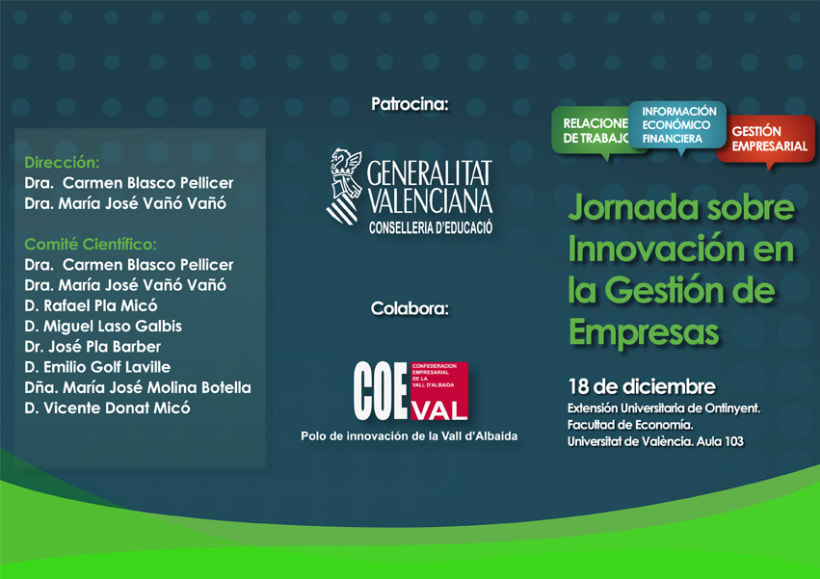 Jornada sobre Innovación en la gestión de empresas 3