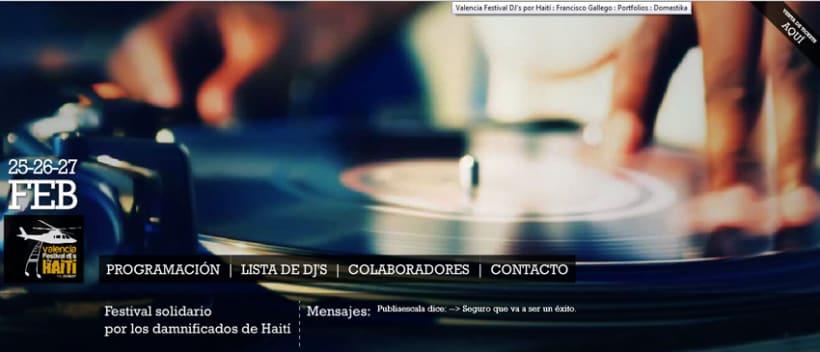 Valencia Festival DJ's por Haití 2