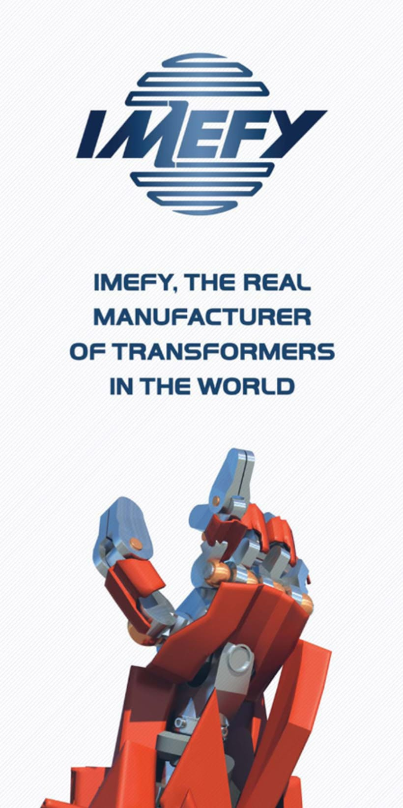Imefy, the real manufacturer of transformers in the world. 2